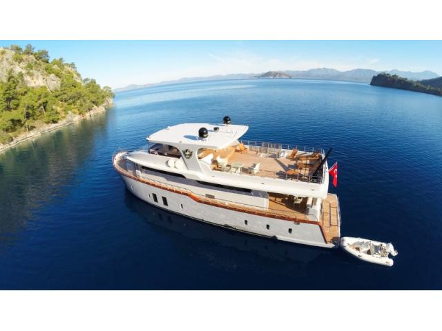 Trawler 4 Cabin Luxury M/Y For Sale With Charter Customers in Fethiye, Turkey