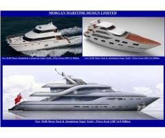 New Motor / Super & Mega Yachts