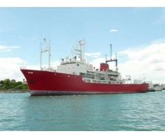 Research/Survey/Accommodation Vessel - reduced price