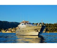 ANTISAN - Luxury 33m Yacht Charter in Cannes