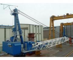 Ship's pedestal crane - 65 t.