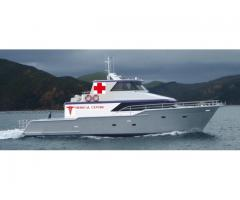 New 22.00 Meter Aluminium Catamaran Hospital Boat