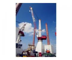Diesel-Electric full revolving floating 700 tons crane