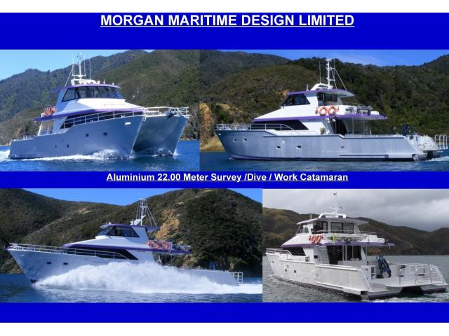 New 22.00 Meter Aluminium Survey / Dive / Workboat