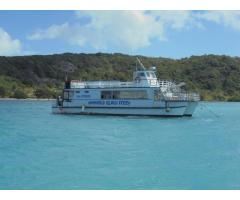 "ONLINE AUCTION - 1981 CATAMARAN PASSENGER VESSEL ""M V Fitzroy"""