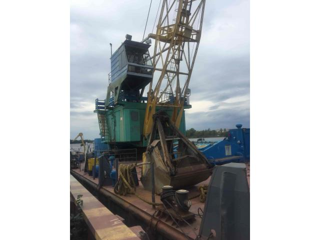 Non-propelled Floating crane 5 t. 1992 Class until 05.2020
